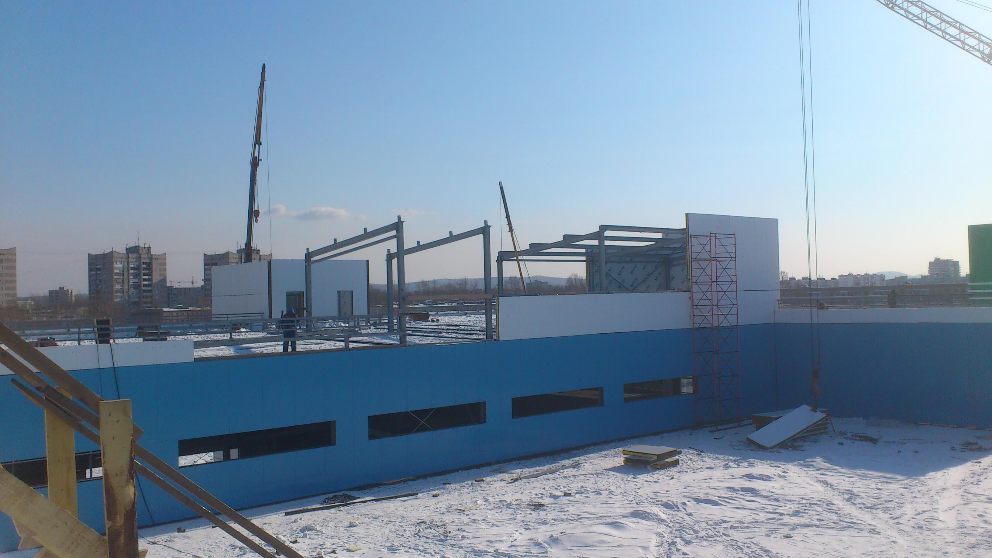 Строительство Наутилус 5