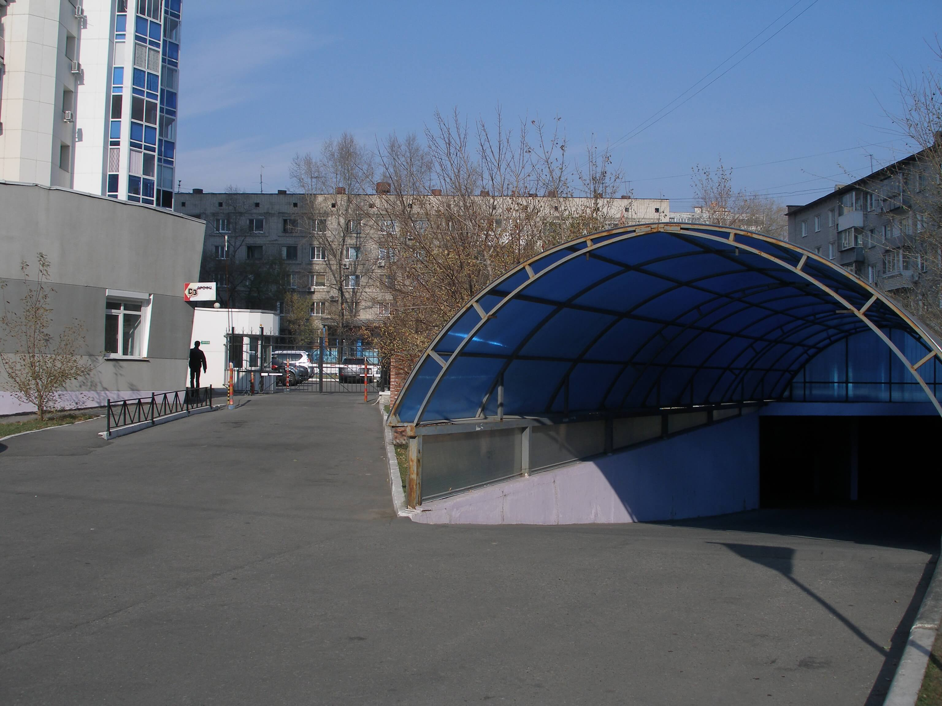 Подземная парковка ул.Гайдара в г.Хабаровске 2012