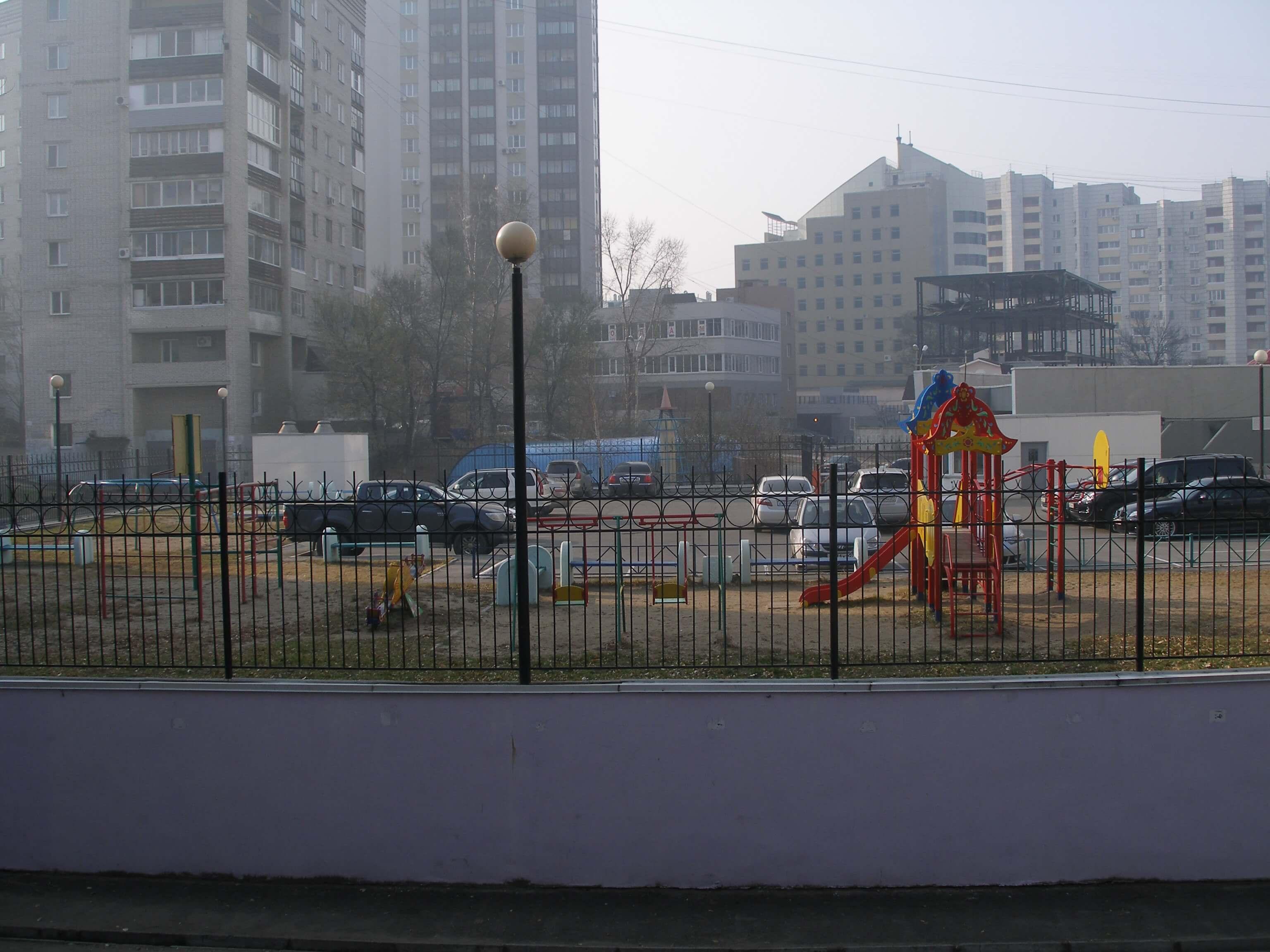 Подземная парковка ул.Гайдара в г.Хабаровске